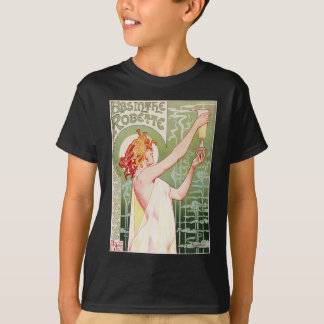 Absinthe Robette - Vintage French Ad T Shirts