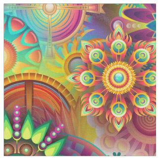 Abstract Art 163 Fabric