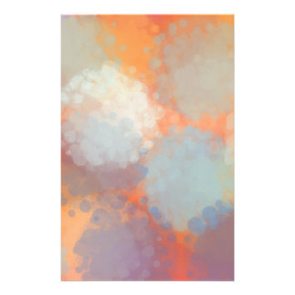 Abstract C Personalized Stationery