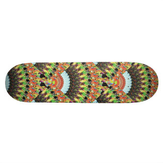 Abstract Collage of Colors 5 19.7 Cm Skateboard Deck