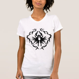 Abstract Design in Black. Tshirts