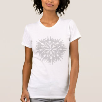Abstract Design in Light Gray Shirts