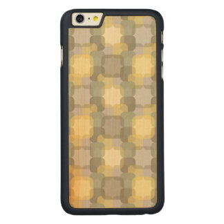 Abstract Effect Carved® Maple iPhone 6 Plus Case