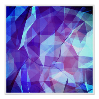 Abstract Geometric Design Poster