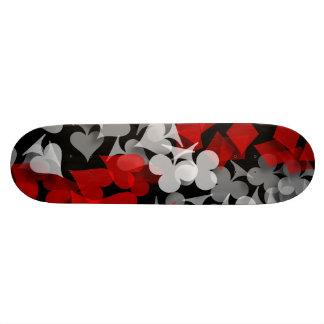 Abstract Lucky Winner Gambler Skate Boards