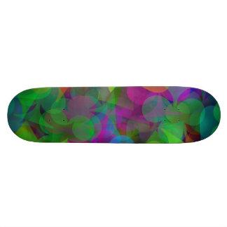 Abstract Lucky Winner Gambler Skateboard Deck