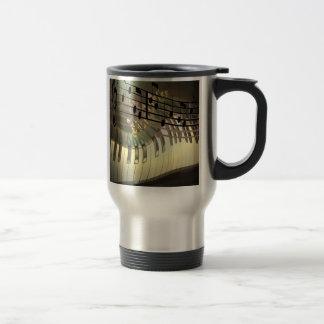 Abstract Piano Mug