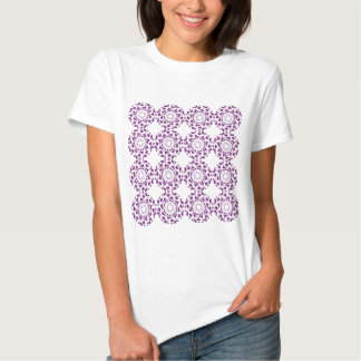 Abstract Purple Pattern Design Shirt