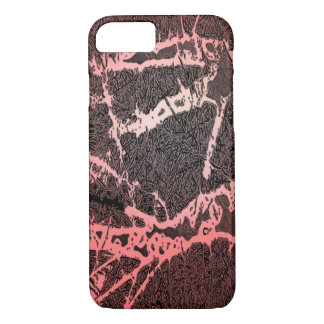 Abstract trees red iPhone 7 case