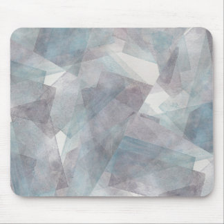 Abstract violet pattern mouse pad