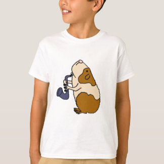 AC- Guinea Pig Playing the Saxophone T Shirts