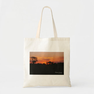 Acacia Sunset Budget Tote Bag