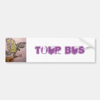 Acoustic Fish Hawk (tour bus) Bumper Sticker