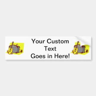 acoustic guitar suitcase yellow.png bumper sticker