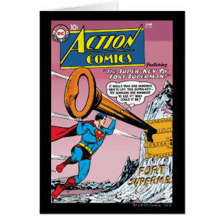 Action Comics #241 Greeting Card