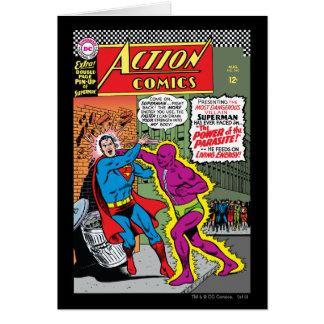 Action Comics #340 Greeting Card