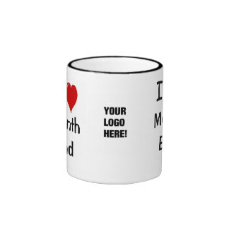 Add A Logo I Love Month End Accounting Quote Ringer Mug