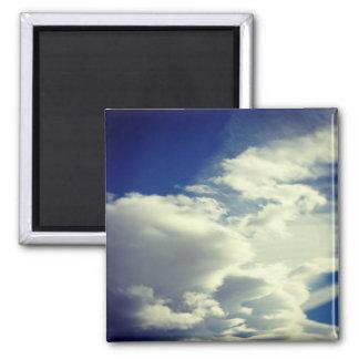 Add A Square Photo Square Magnet
