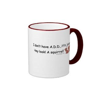 ADD Squirrel Ringer Mug
