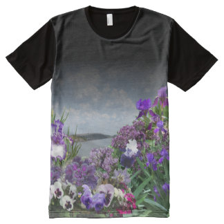 add your image Shades of purple t-shirt 2 All-Over Print T-Shirt