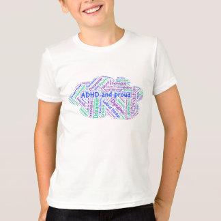 ADHD and Proud Motivational Inspirational T-shirt