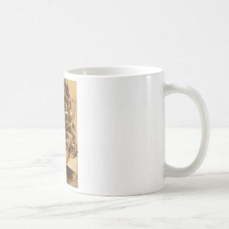 Adolph von Menzel Schlafender Man Asleep Basic White Mug