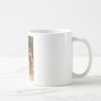 Adolphe Alexandre Lesrel Gentlemens Pleasures Basic White Mug