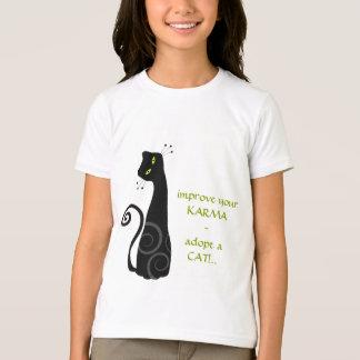 Adopt a Cat Tee Shirt