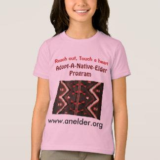 adopt a native elder kids shirt