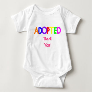Adopted Pink Thank You Tee Shirts