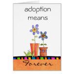 adoption congratulations card