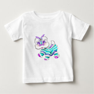 Adorable Chinese New Year Dragon 2012 Teal Blue T-shirts