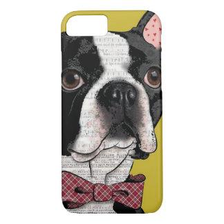 "Adorable Dog Breed ""FRENCH BULLDOG"" iPhone 7 CASE"