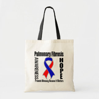 Advocacy Matters Pulmonary Fibrosis Budget Tote Bag