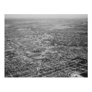 Aerial View of San Antonio, 1939 Postcard