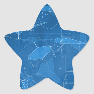 Aerodynamics Star Sticker