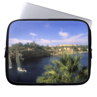 AF, Egypt, Upper Egypt, Aswan. River Nile, Laptop Sleeves