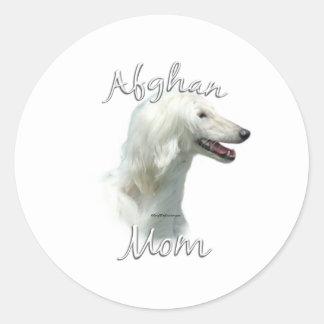 Afghan Mom 2 Round Sticker