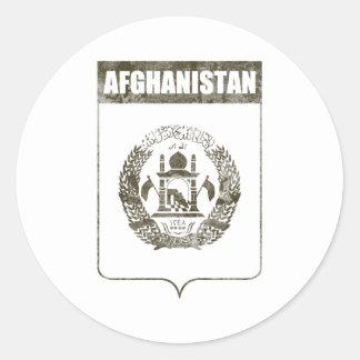 Afghanistan Round Sticker