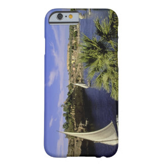 Africa, Egypt, Upper Egypt, Aswan. Feluccas 2 Barely There iPhone 6 Case