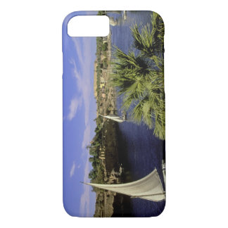 Africa, Egypt, Upper Egypt, Aswan. Feluccas 2 iPhone 7 Case