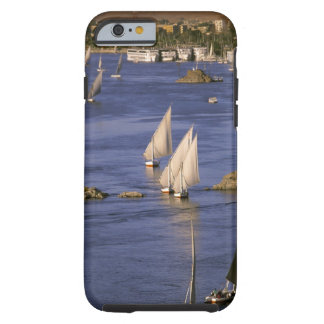 Africa, Egypt, Upper Egypt, Aswan. Feluccas Tough iPhone 6 Case
