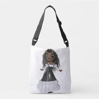 African American Woman Medium Bag Tote Bag
