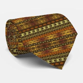 african print tie