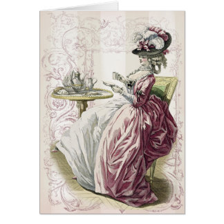Afternoon Tea! Greeting Card
