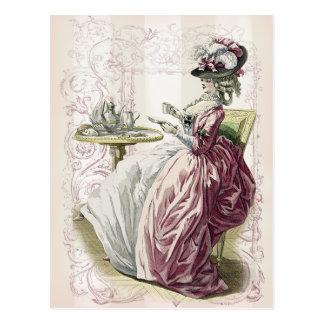Afternoon tea! postcard