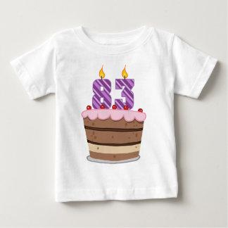 Age 83 on  Birthday Cake Shirts