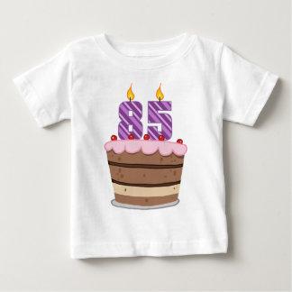 Age 85 on Birthday Cake Tshirts