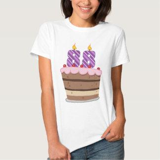 Age 88 on Birthday Cake Tees