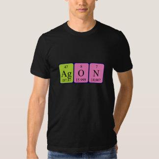 Agon periodic table name shirt